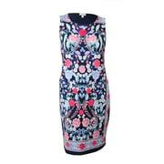 Charter Club Women's Carnation Print Jersey Dress