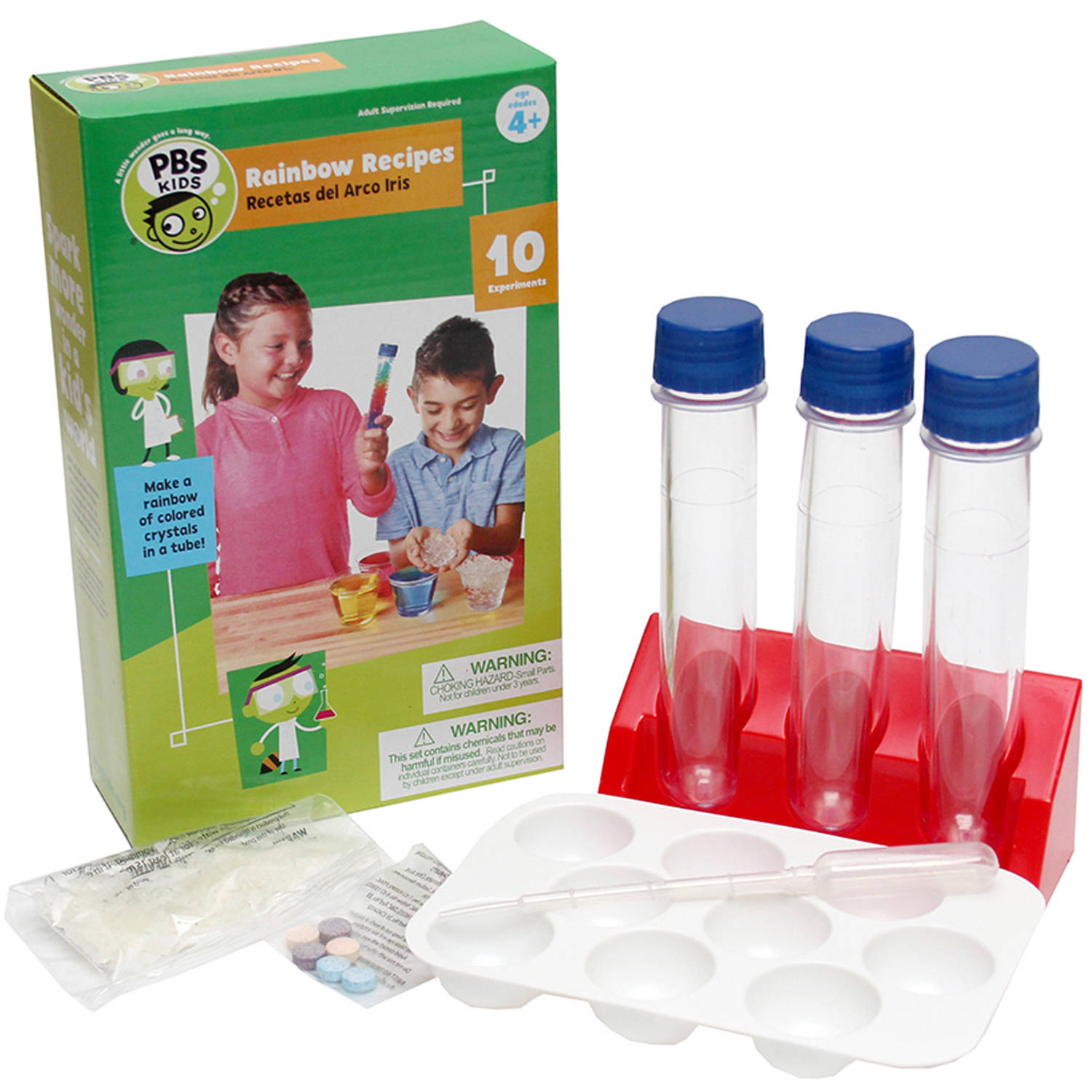 PBS Kids Rainbow Recipes Science Kit