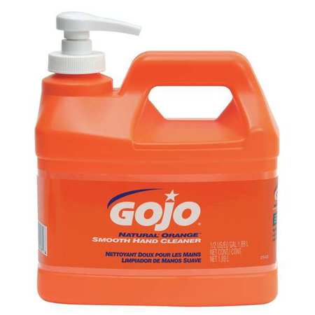 Gojo 1/2 gal. Citrus Hand Cleaner, 0948-04