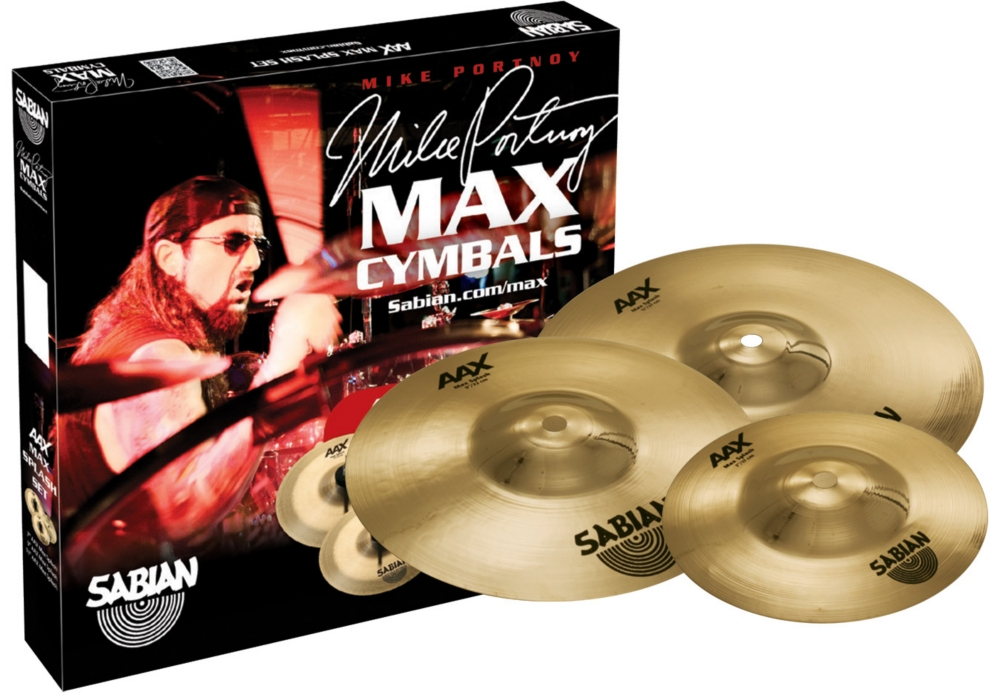 Sabian AAX Max Splash Cymbal Set Brilliant Finish 7 in., 9 in., 11 in. Brilliant by Sabian