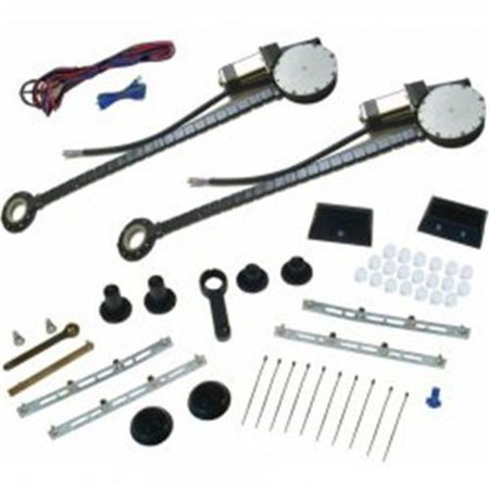 Autoloc 9846 Power Window Conversion Kit (Best Power Window Kit)