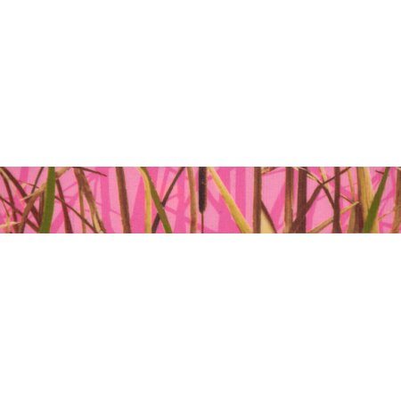 Country Brook Design® 7/8 Inch Pink Waterfowl Camo Grosgrain Ribbon, 5