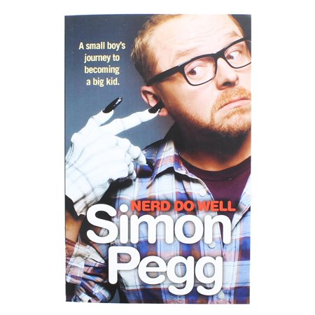 "Simon Pegg ""Nerd Do Well"" Book - image 1 of 1"