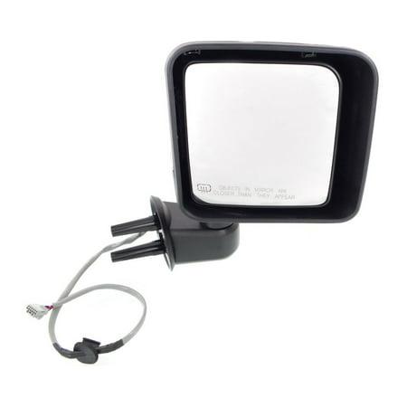 Kool Vue Mirror - JP68ER - For Jeep Wrangler (JK) Passenger Side Without -