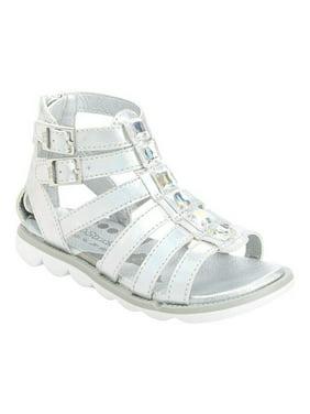 0674caa9cd2 Product Image infant girls  step   stride renne gladiator sandal