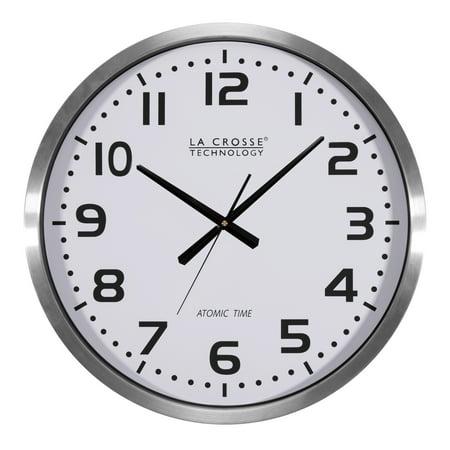 La Crosse Technology 404-1220 20 Inch Extra Large Atomic Analog Wall Clock