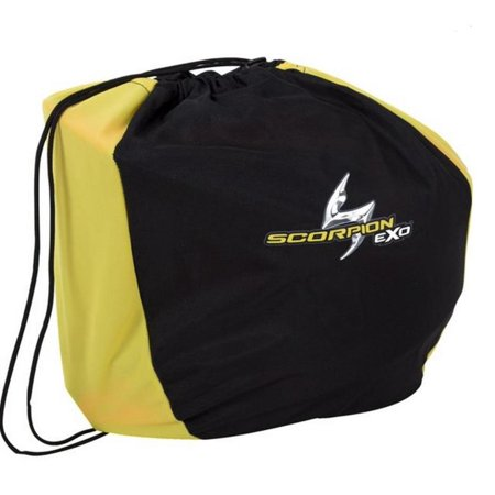 Scorpion 59-617 Helmet Bag for VX-R70 Helmet - Black/Yellow