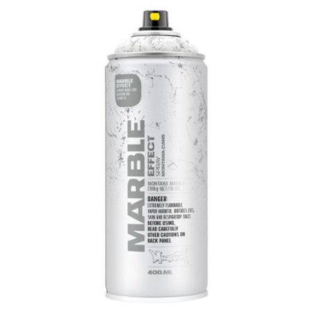 Montana Marble Effect Spray Paint 11 Oz White 400ml Urban