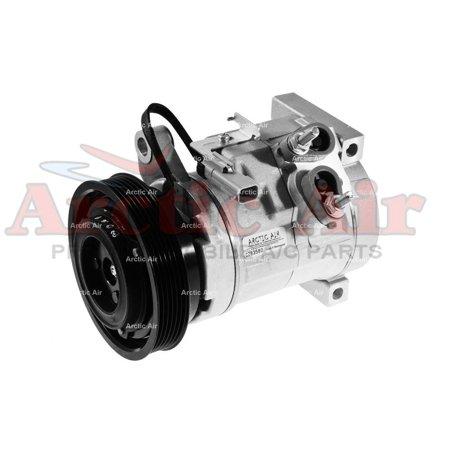 Remanufactured Arctic Air Premium Auto A/C Compressor with Clutch for 2001-2007 Dodge Grand Caravan 3.3L 3.8L - 1 YEAR WARRANTY* ()