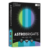 Astrobrights Colored Paper, 8-1/2 x 11, Cool Assortment, 500 Sheets