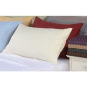 """16"""" Deep Pocket -5 SIZES-600 Thread Count Striped Egyptian Cotton Bed Sheet Sets"""