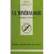 La minralogie - eBook