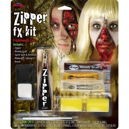 Zombie Zipper Halloween Makeup Kit