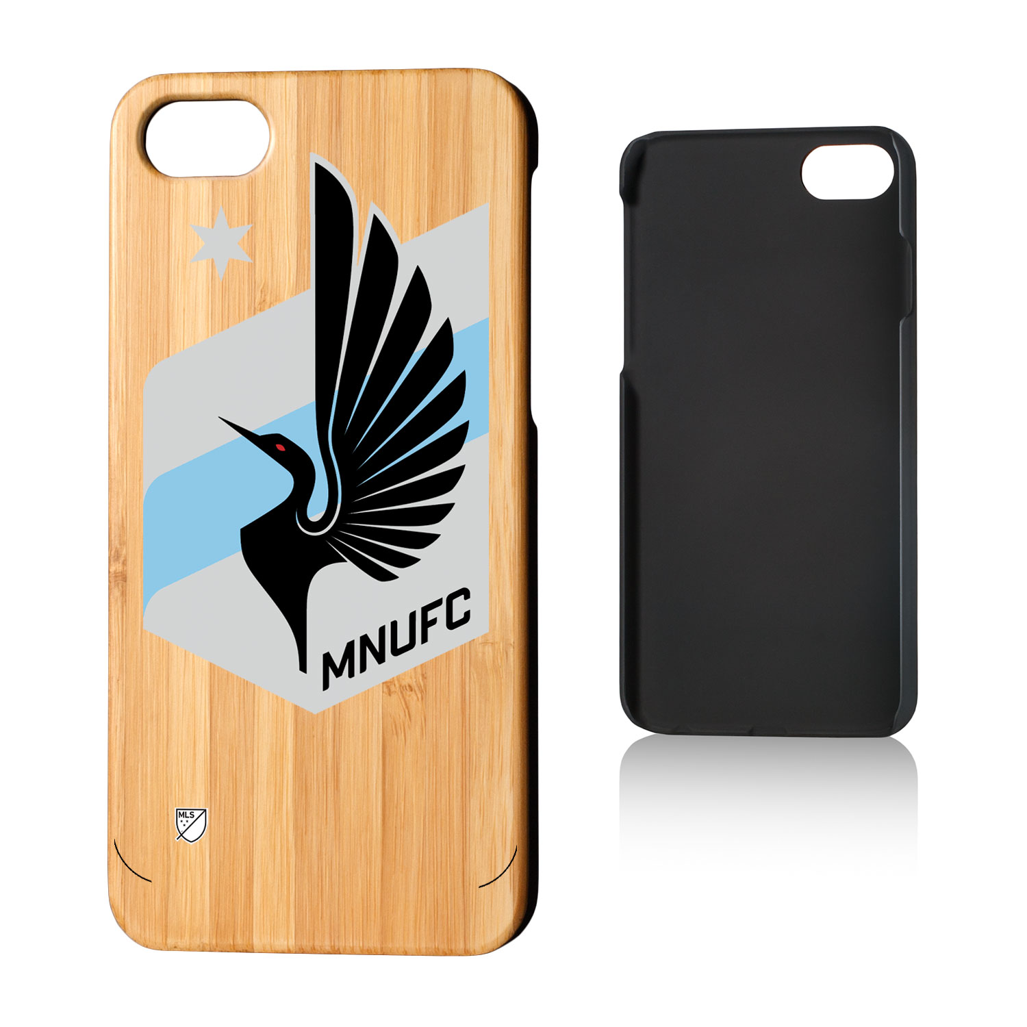 Minnesota United FC MNUFC Insignia Bamboo Case for iPhone 8 / 7
