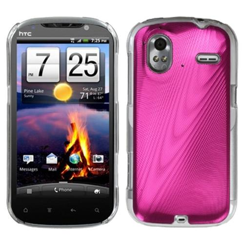 Insten Hot Pink Cosmo Back Case for HTC: Amaze 4G