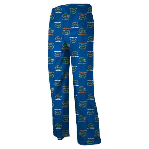 Florida Gators Youth NCAA Printed Logo Pajama Pants