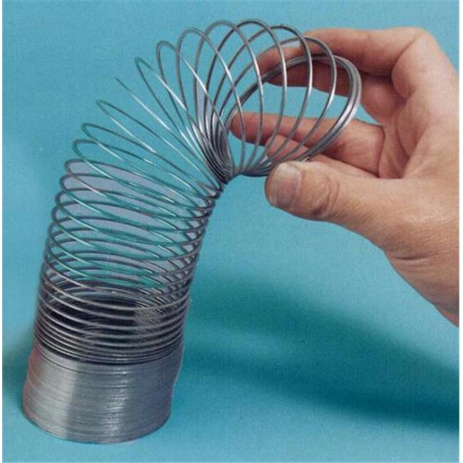 Olympia Sports 13453 3'' Diameter Slinky Flat Springs - Original metal
