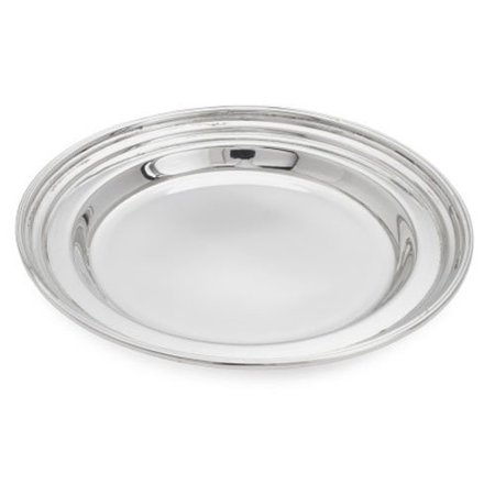 Cambridge Collection Bottle Coaster 3023   Silver  Material  Brass  Steel  Silver Plate By Sur La Table