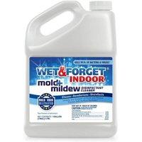 Wet & Forget Indoor Mold + Mildew Disinfectant Cleaner, 1 Gallon