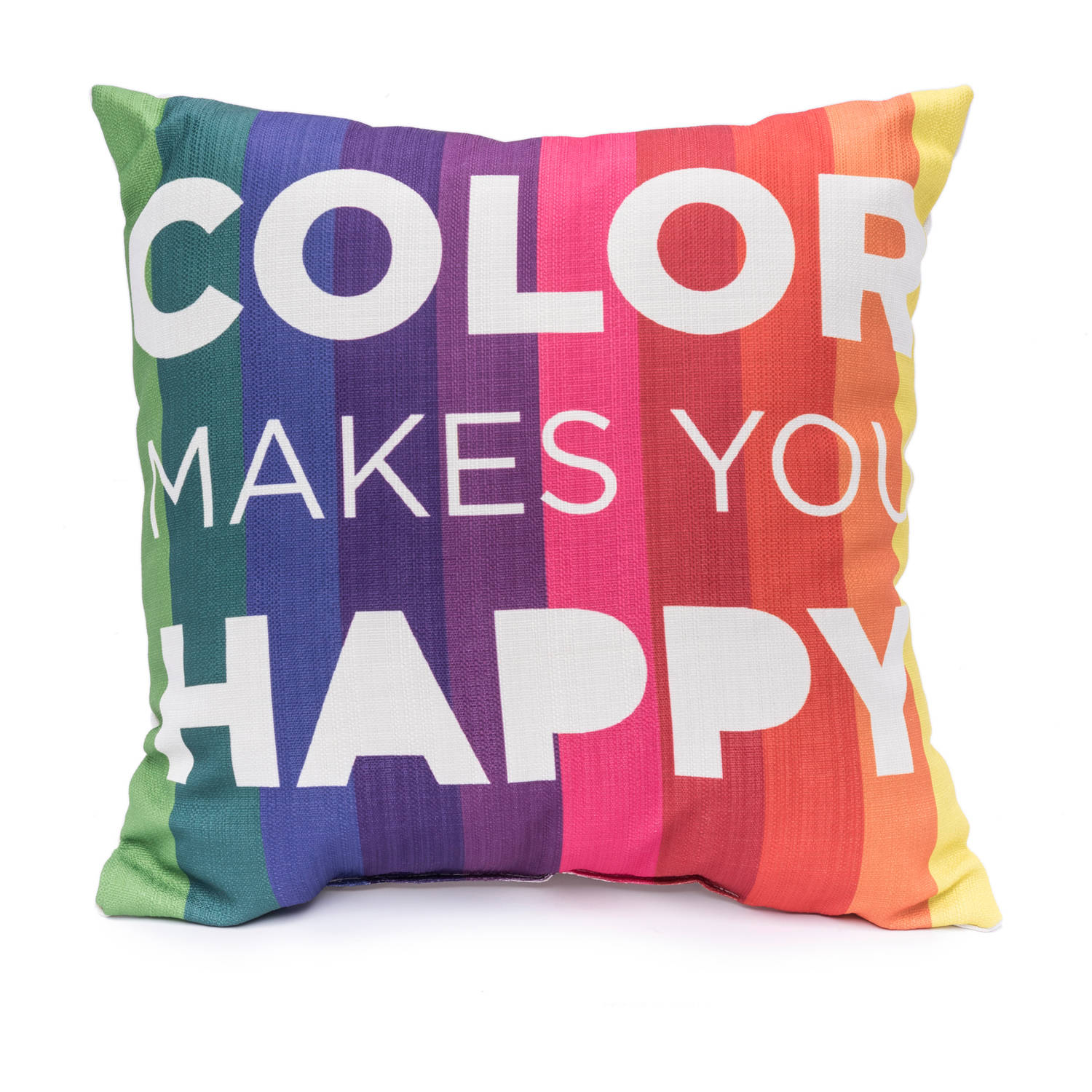 9 by Novogratz Color Makes You Happy Decorative Pillow