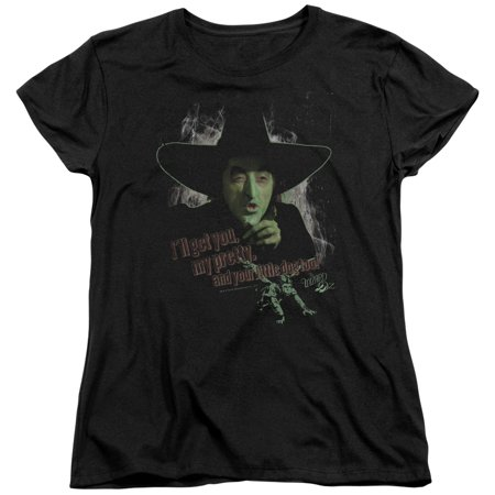 - Wizard Of Oz And Your Little Dog Too Womens Short Sleeve Shirt