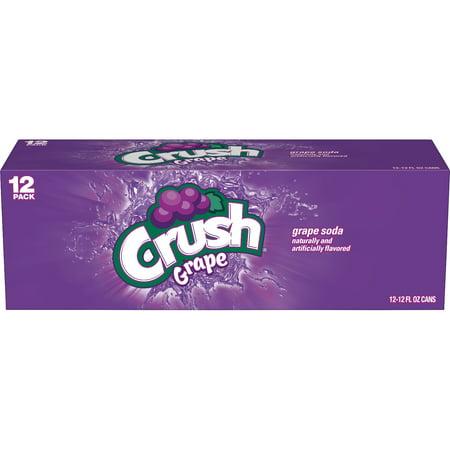 Crush Grape Soda, 12 Fl. Oz., 12 Count
