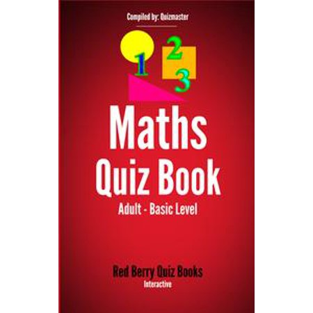 Maths Quiz: Adult Basic Level - eBook for $<!---->