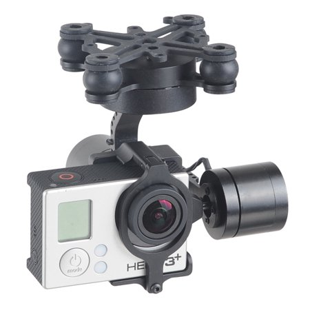 3-AXIS CNC Brushless Gimbal W/ Micro Controller for GoPro 3 3+ 4 DJI