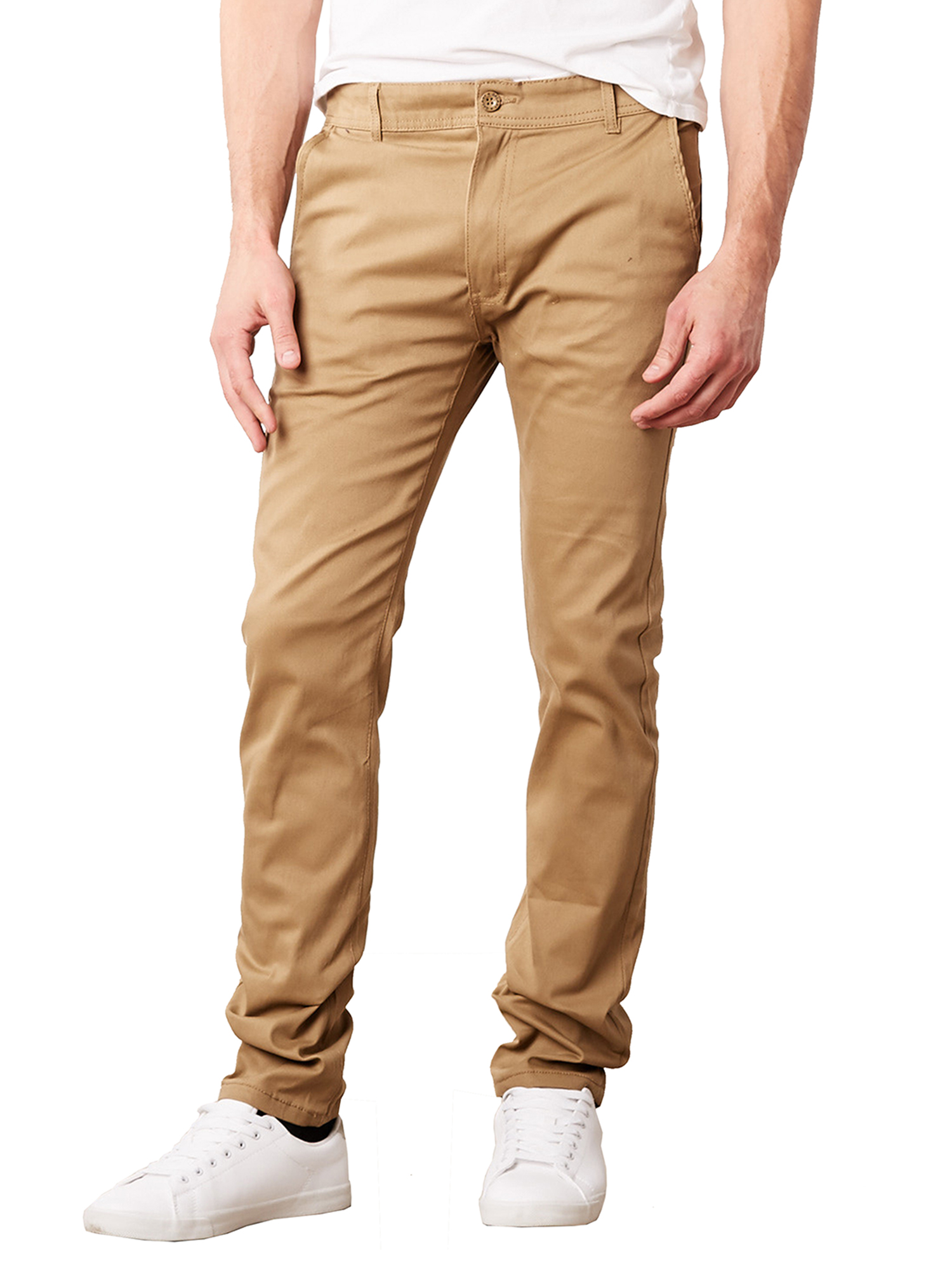 Joules Mens Slim Fit Chino Trousers Oat