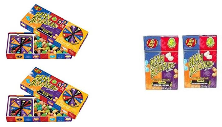 Jelly Belly Bean Boozled 2 Spinners and 2 Refills by Jelly Belly