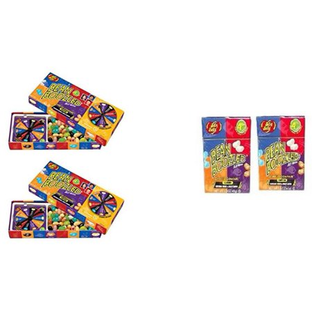 Jelly Belly Bean Boozled 2 Spinners and 2 Refills - Boozled Beans