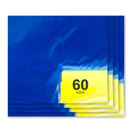 (Purus 36in. x 36in. Blue, 60 Layer Cleanroom Mat, (Case of 4))