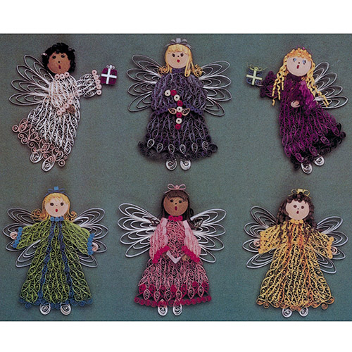 Quilling Kit Christmas Angels