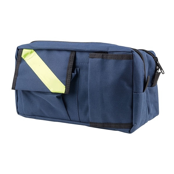 Fanny Pack, Nylon, Navy, 10inx6inx5in
