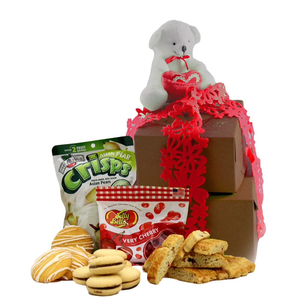 GlutenFreePalace.com I Love You, Mom! Gluten Free Gift Tower, Small, 1.5 pounds