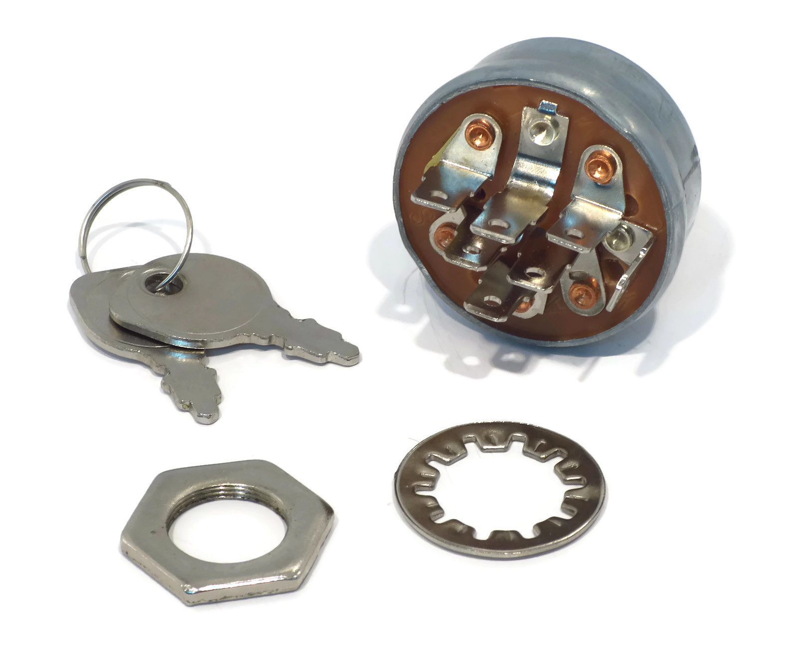 IGNITION KEY SWITCH w  2 Keys for Stens 430-674 430674 Rotary 9623 Lawn Tractors by The ROP Shop by The ROP Shop