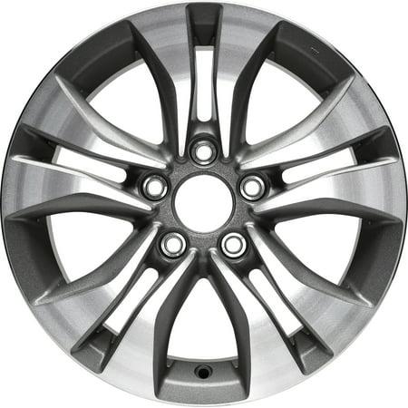 16 Inch 6 Spoke - New Aluminum Alloy Wheel Rim 16 Inch Fits 2013-2015 Honda Accord l 16x7 5 on 114.3 - 4.5 Inches 10 Spoke