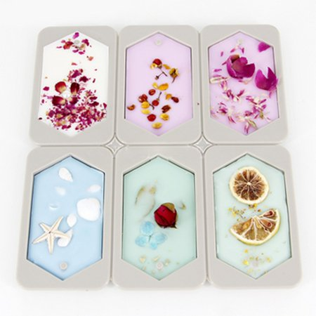 Hexagonal Aromatherapy Wax Plaster Crystal Epoxy Soap Silicone Mold Supplies