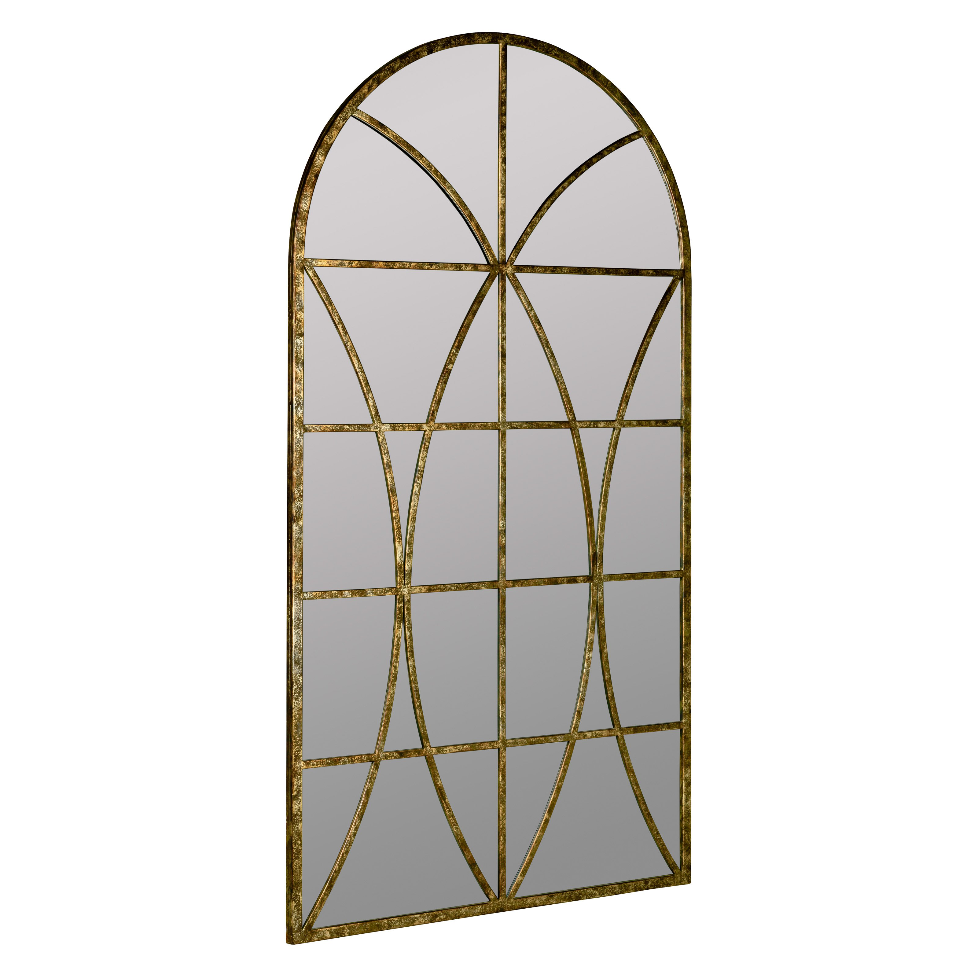 Jarmo Arched Wall Mirror 32W x 59H in. by Cooper Classics