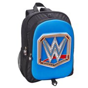 Official WWE Authentic SmackDown Women's Championship 3-D Molded Backpack Multi
