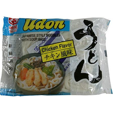 Myojo Udon Japanese Style Noodles Soup, Chicken Flavor, 7.25 oz (Pack of (Japanese Soup)