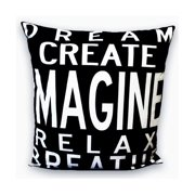 Uptown Artworks Imagine Throw Pillow