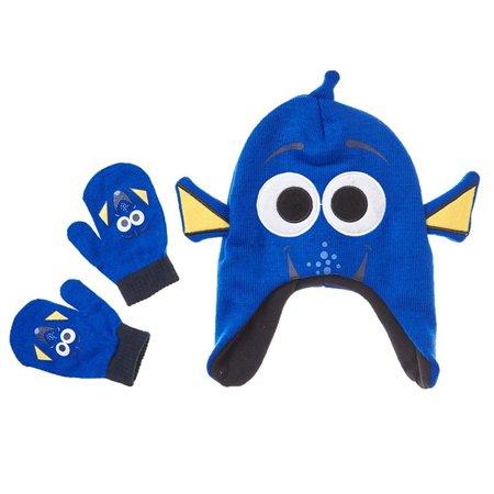 Disney Finding Dory 'Dory' Toddler Winter Hat & Mitten Set](Disney Captain Hook Hat)