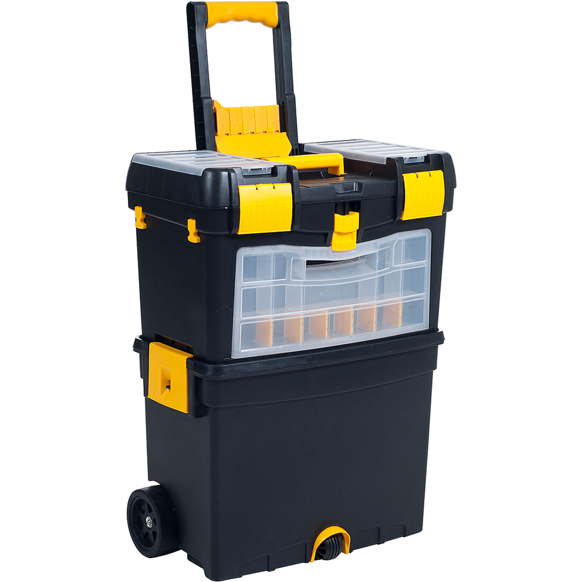 Stalwart 3-in-1 Oversized Portable Tool Chest W