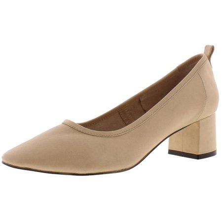156398388a4 Sam Edelman - Sam Edelman Womens Primm Leather Block Heel Dress Pumps -  Walmart.com