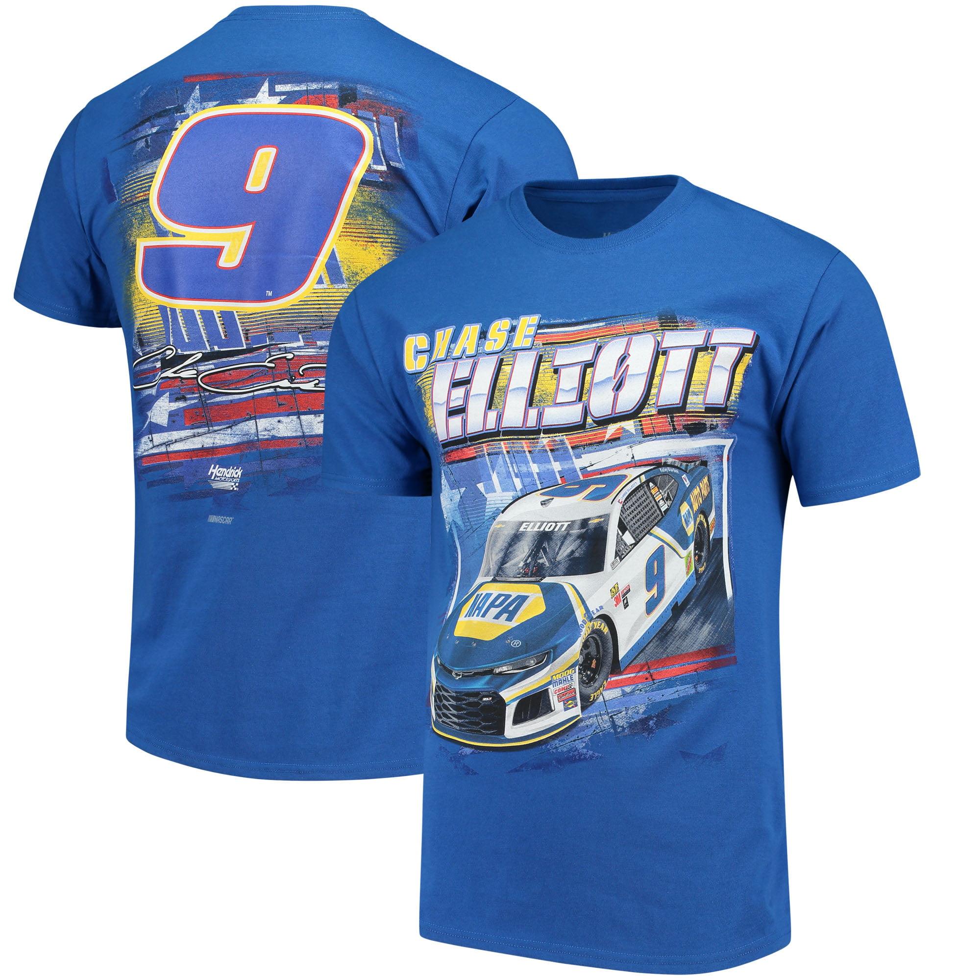 Chase Elliott Hendrick Motorsports Team Collection NAPA Patriotic T-Shirt - Royal