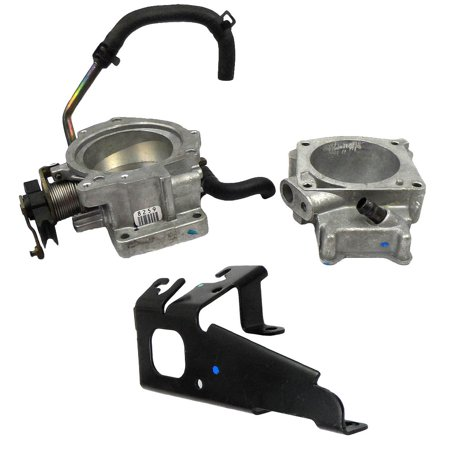 New OEM Throttle Body (17096163) & Spacer (12561476) for Cadillac 1996-1999 4.6L