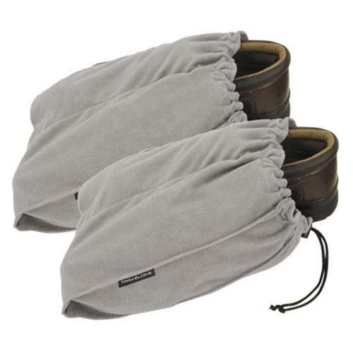 Travelon ~ Set of 2 Shoe Bags, Gray