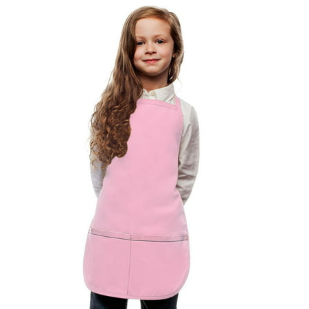 Pink Kids Art Smock Apron by My Little Doc