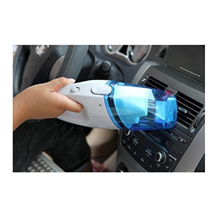 Hand Vac Tool - Rechargeable Powered Operated Handheld Cordless Mini Vacuum -Car vacuum cleanerCleaner Portable Lightweight Auto Hand Vac Dustbuster with Detachable Crevice Tool for Car Seats and Pet Hair